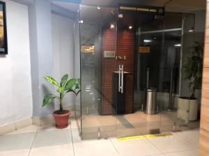Smoking Area Inside Nagpur Airport Terminal